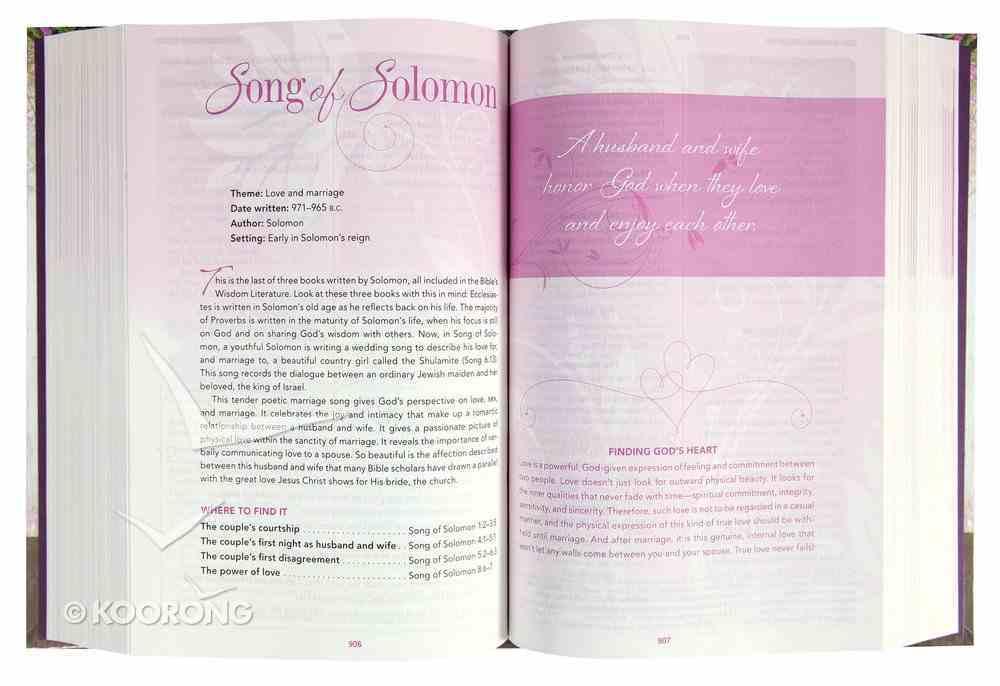 NKJV a Woman After God's Own Heart Bible Hardback