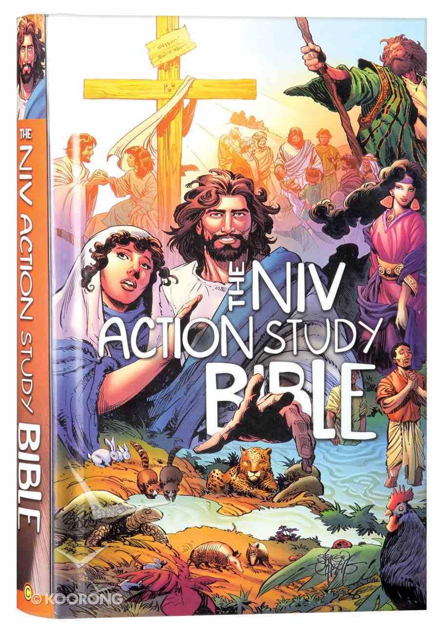NIV Action Study Bible Hardback