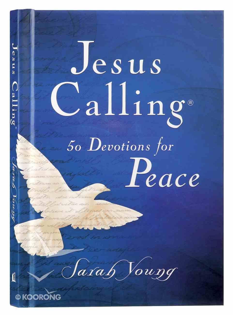 Jesus Calling 50 Devotions For Peace Hardback