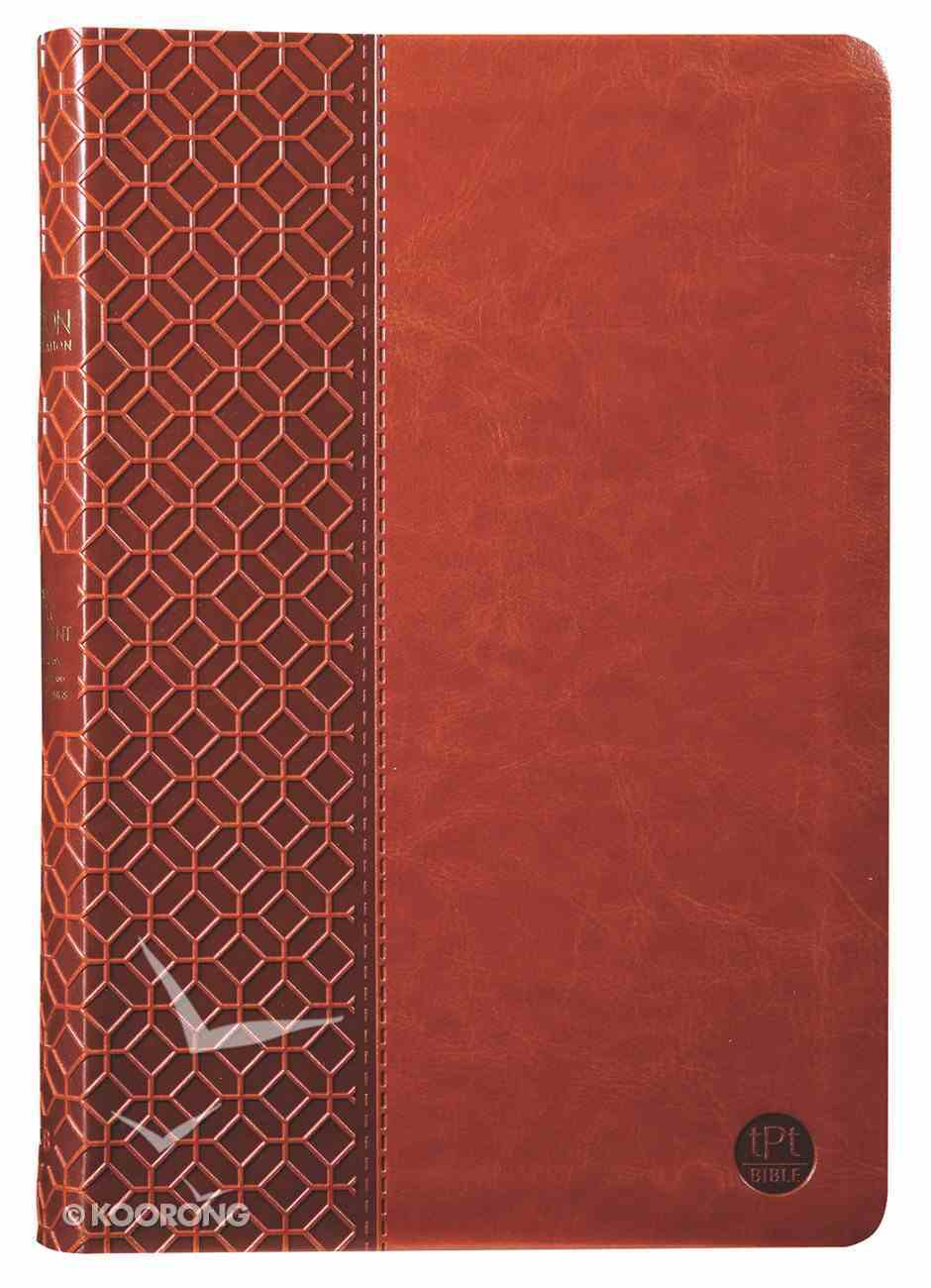 TPT New Testament Large Print Brown (With Psalms Proverbs And The Song Of Songs) Imitation Leather