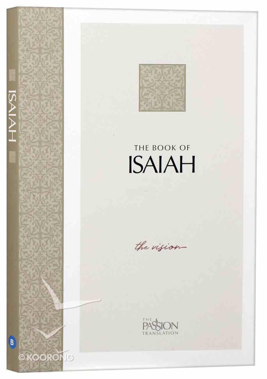 TPT the Book of Isaiah: The Vision (Black Letter) Paperback