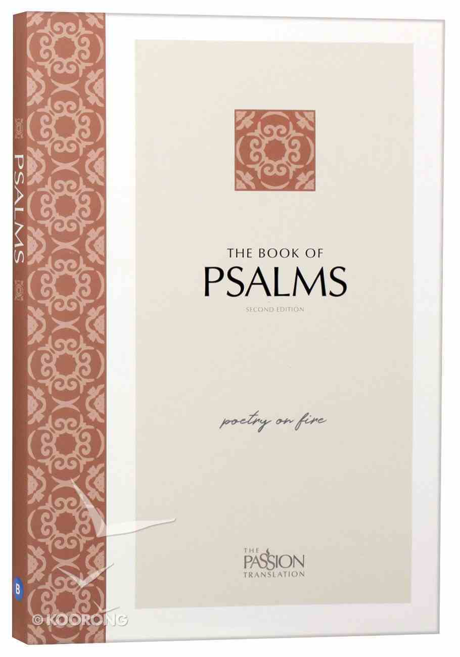 TPT Psalms: Poetry on Fire (Black Letter Edition) (2nd Edition) Paperback