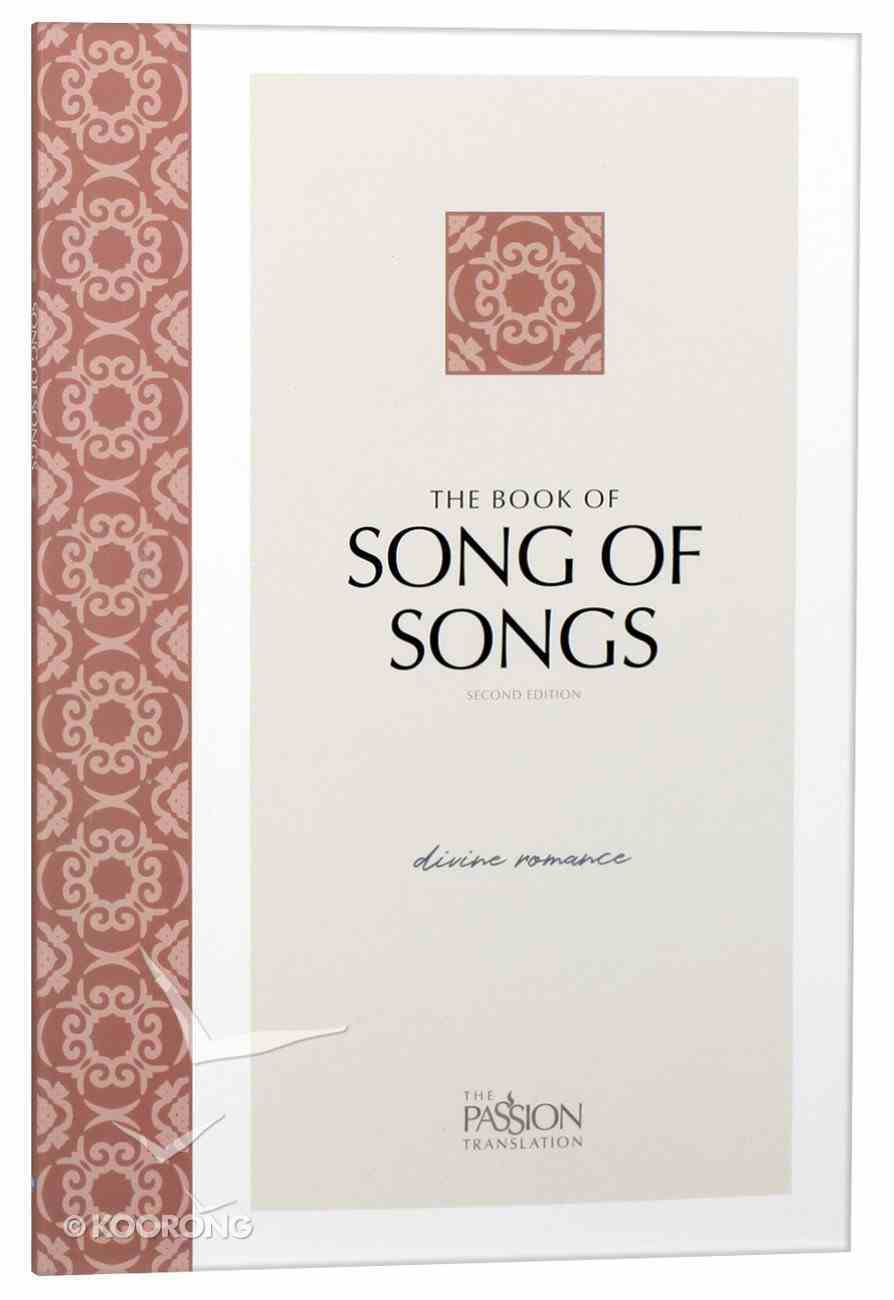 TPT Song of Songs: The Divine Romance (Black Letter Edition) (2nd Edition) Paperback