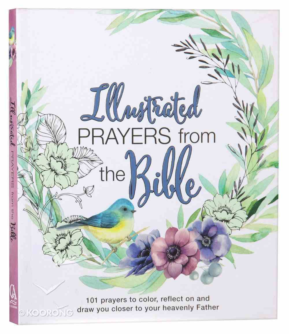 Illustrated Prayers From the Bible Paperback