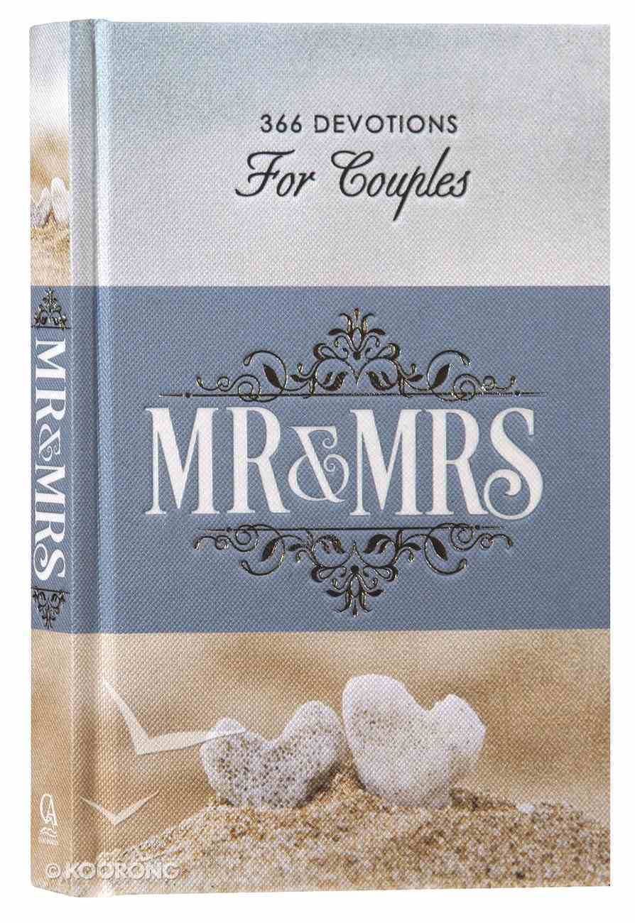 Mr & Mrs 366 Devotions For Couples Hardback