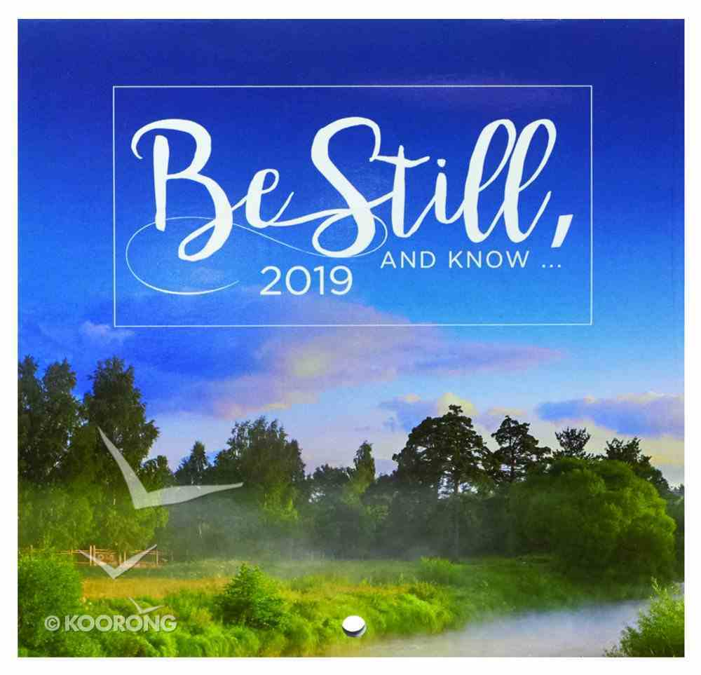 2019 Small Calendar: Be Still and Know.... Calendar