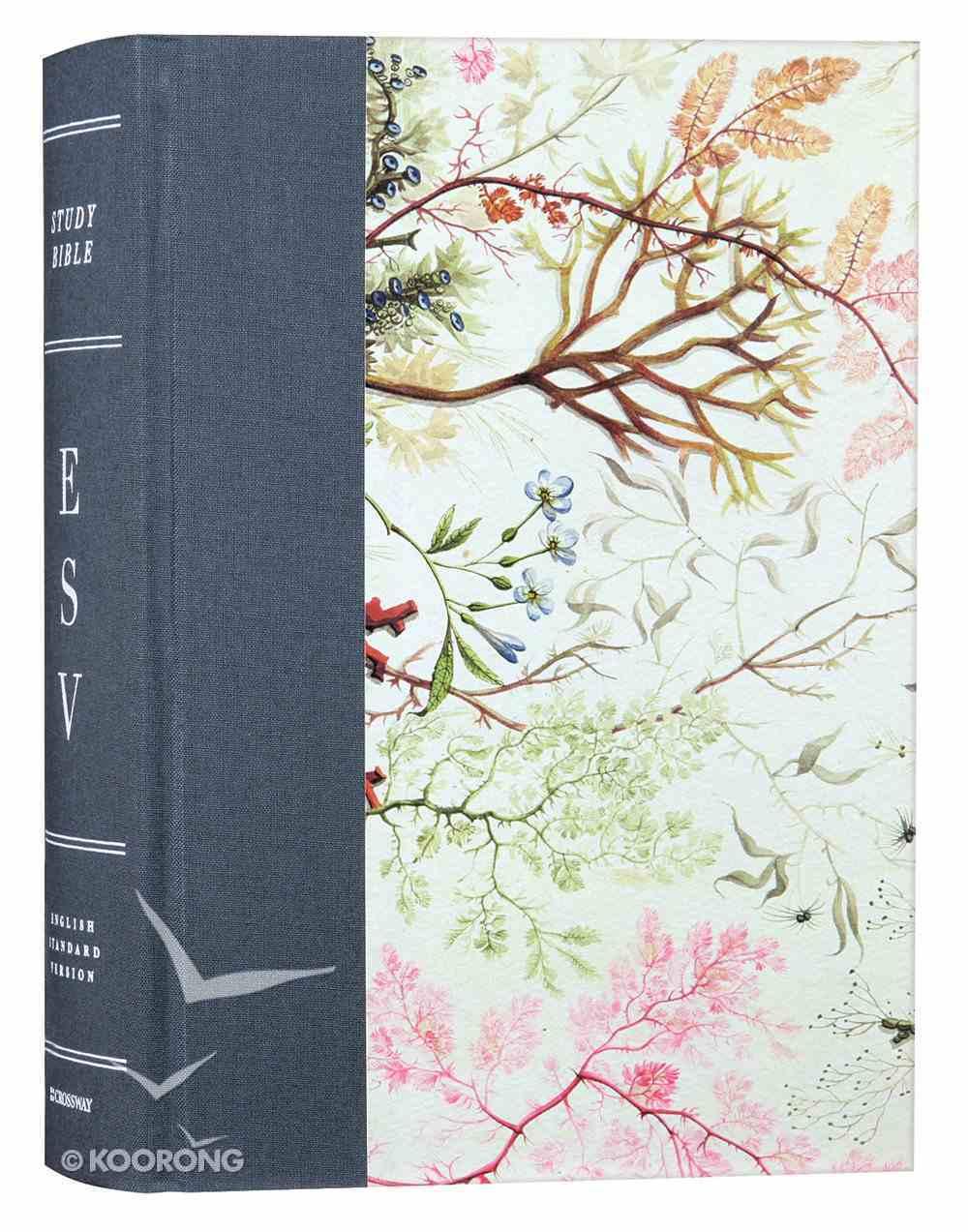 ESV Study Bible Elegant Grace (Black Letter Edition) Hardback