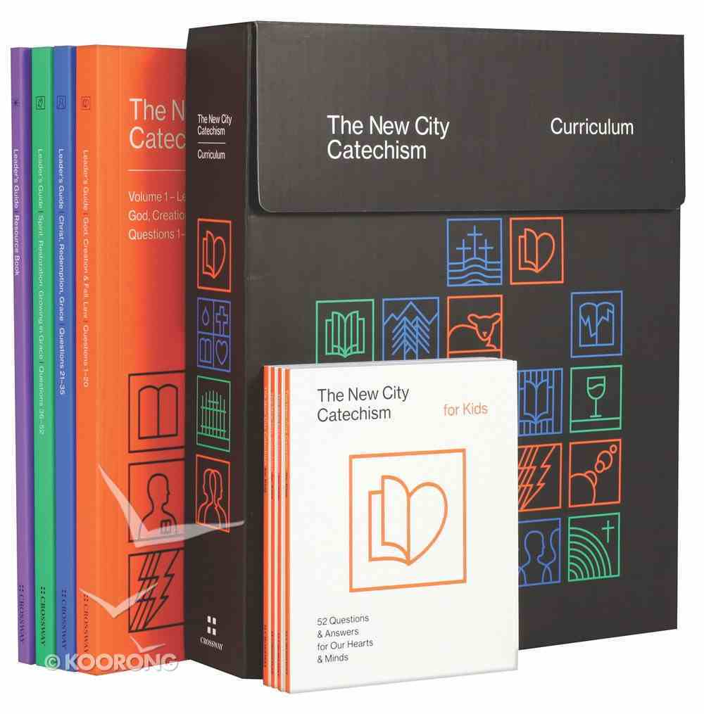 The New City Catechism Curriculum: Lessons For Our Hearts and Minds (Ages 8-11) Pack