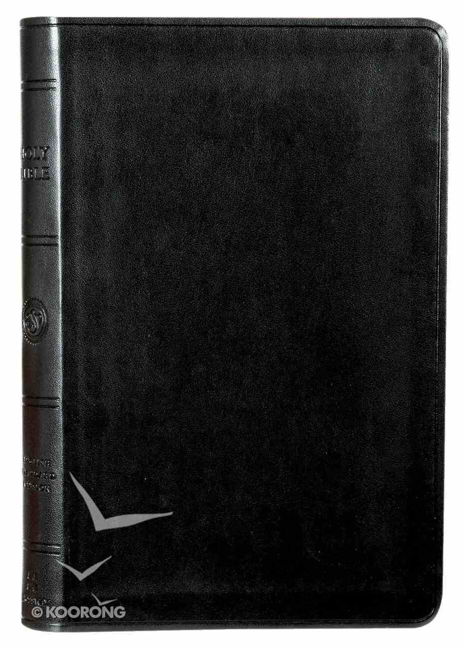 ESV Large Print Value Thinline Bible Black (Black Letter Edition) Imitation Leather