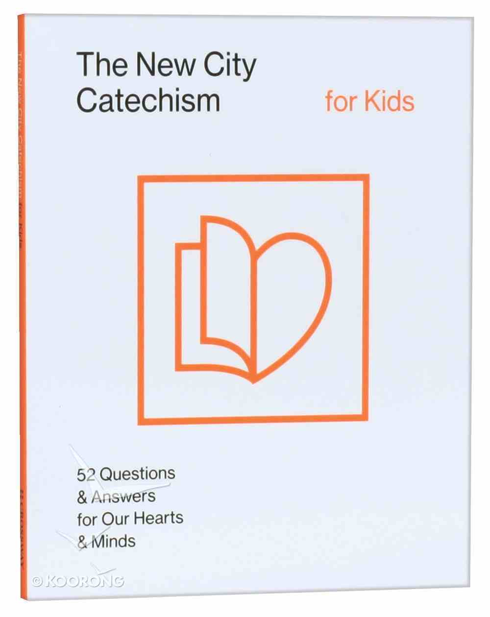 The New City Catechism For Kids (Children's Edition) Paperback