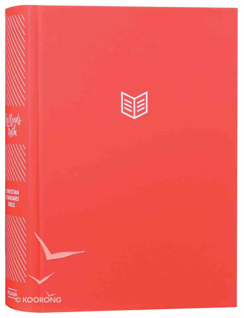 CSB She Reads Truth Bible Poppy Global Edition Hardback