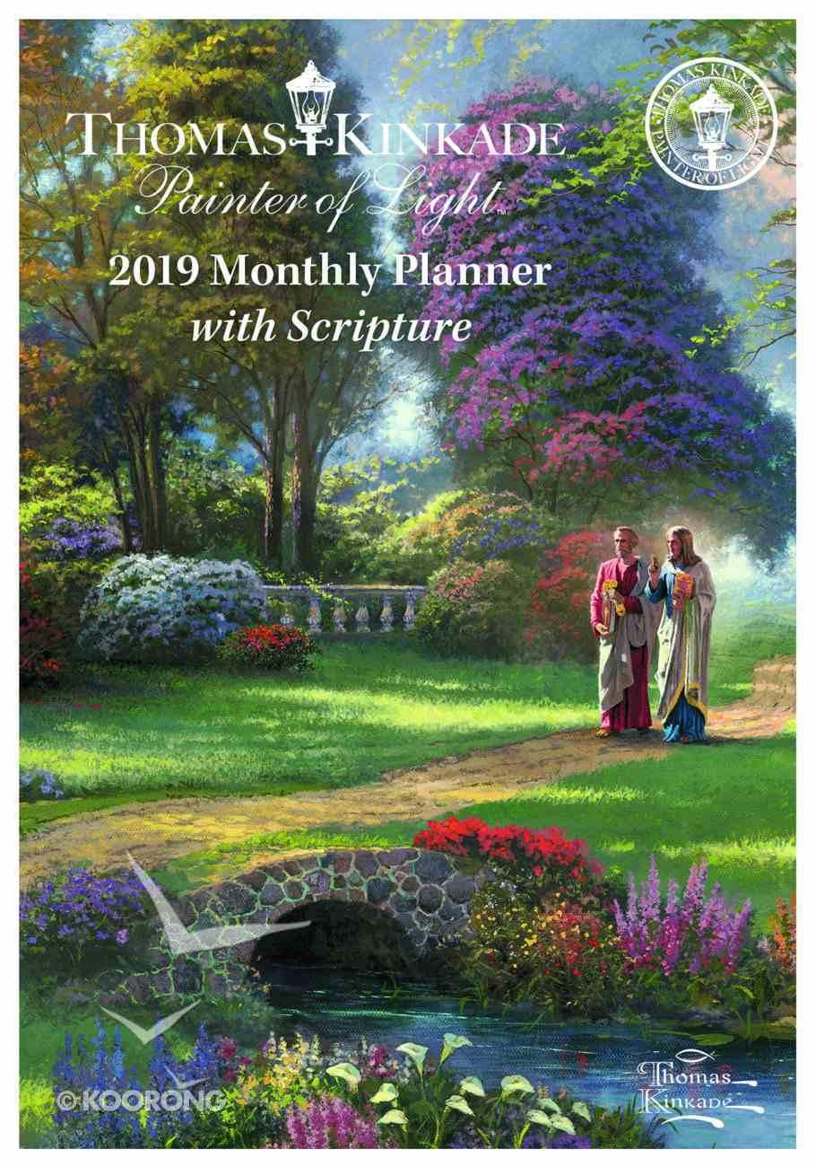 2019 Thomas Kinkade Painter of Light Monthly Pocket Diary/Planner Paperback