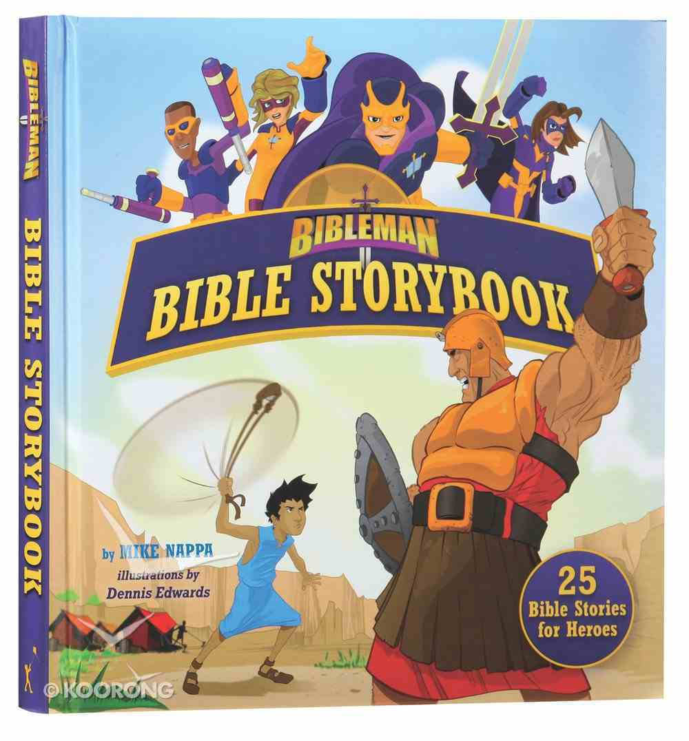 Bibleman Bible Storybook (Padded) Padded Hardback