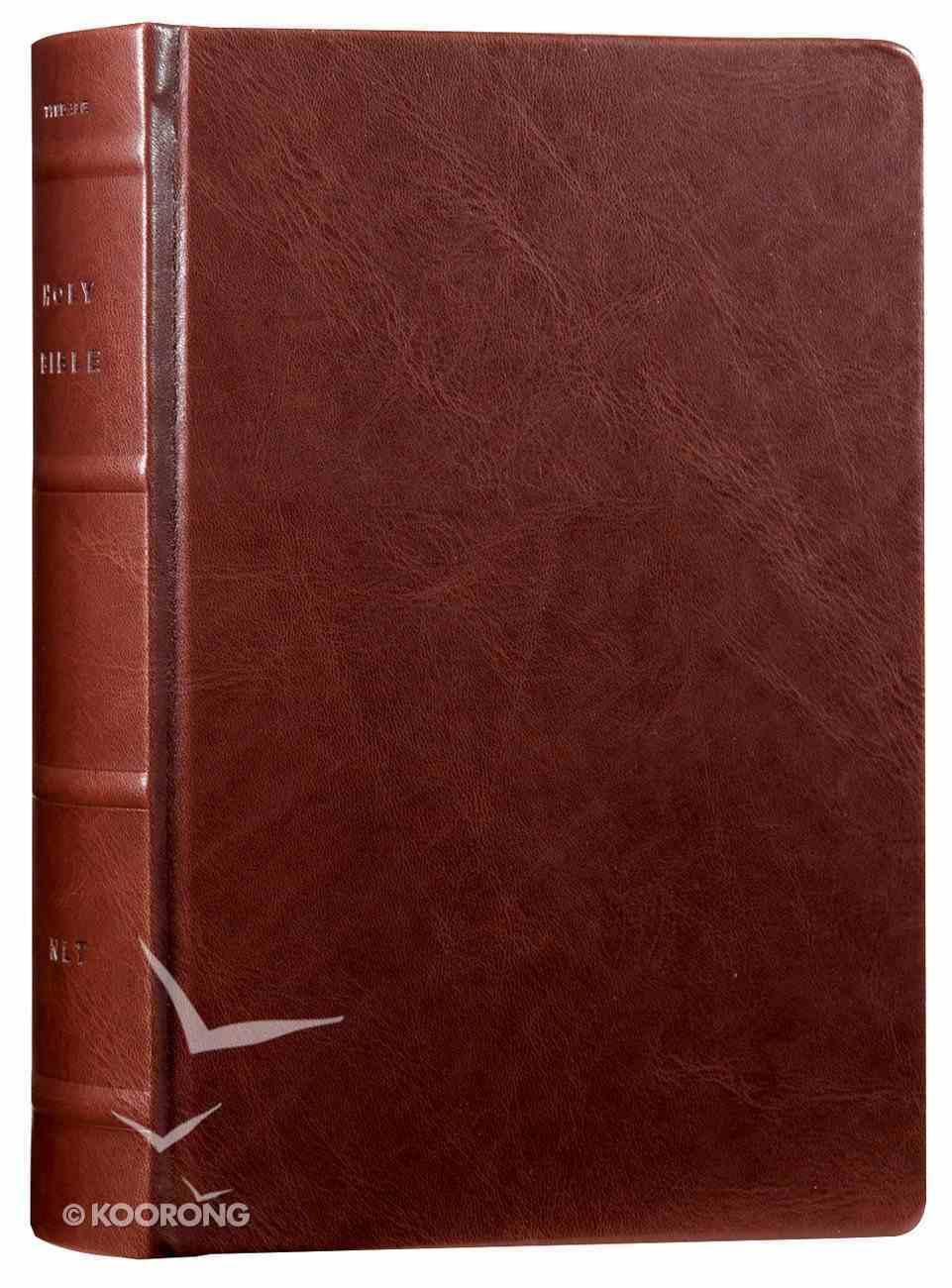 NLT Reflections Bible Mahogany (Black Letter Edition) Imitation Leather Over Hardback