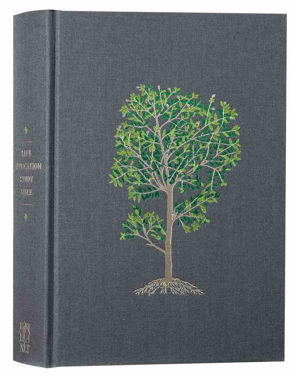 NLT Life Application Study Bible Deluxe Linen Flourishing Arbor (Red Letter Edition) Hardback