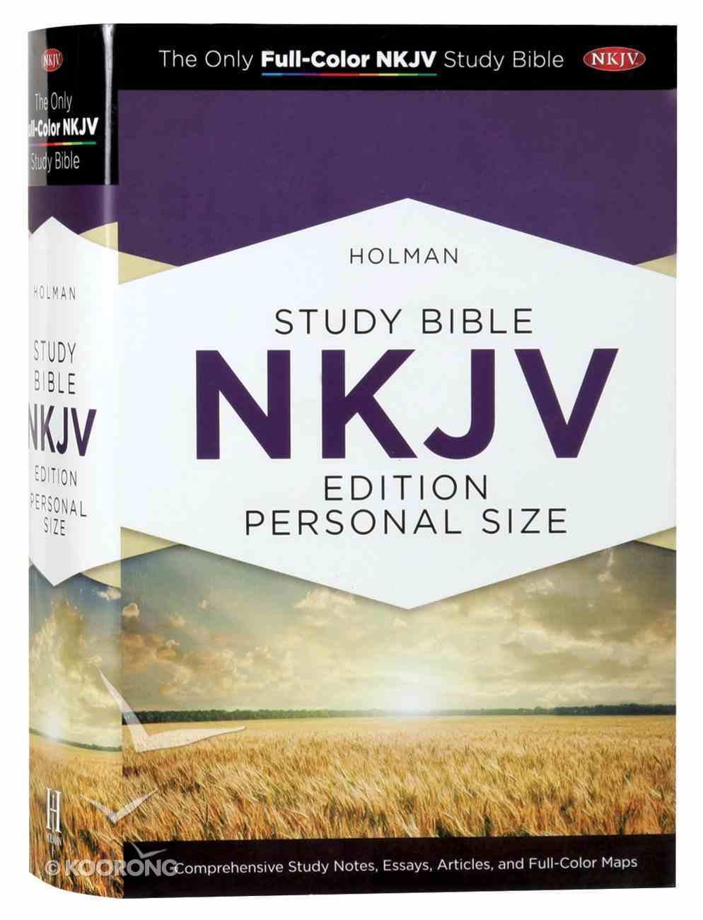 NKJV Holman Study Bible Personal Size Hardback
