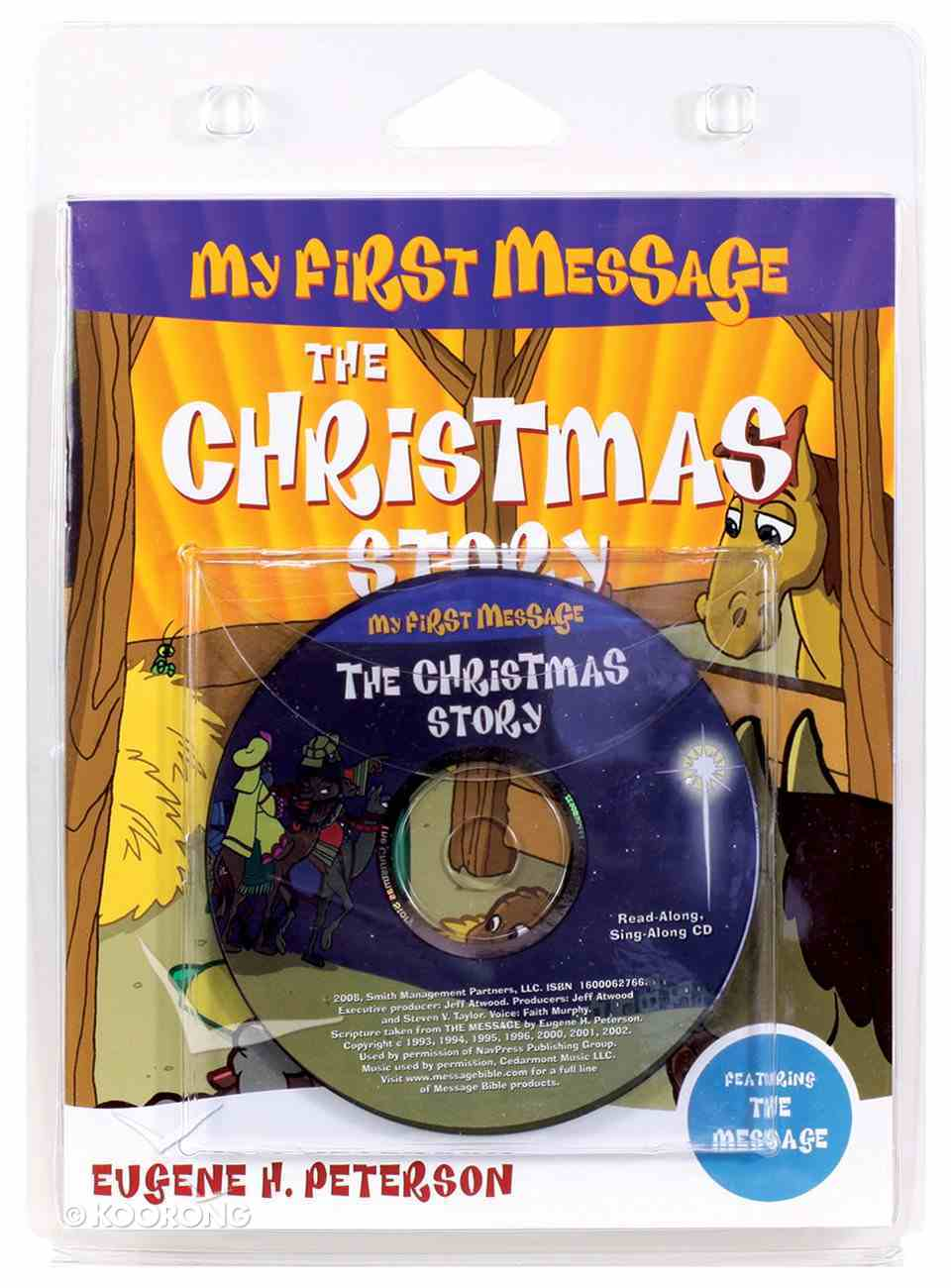My First Message: The Christmas Story Book Paperback