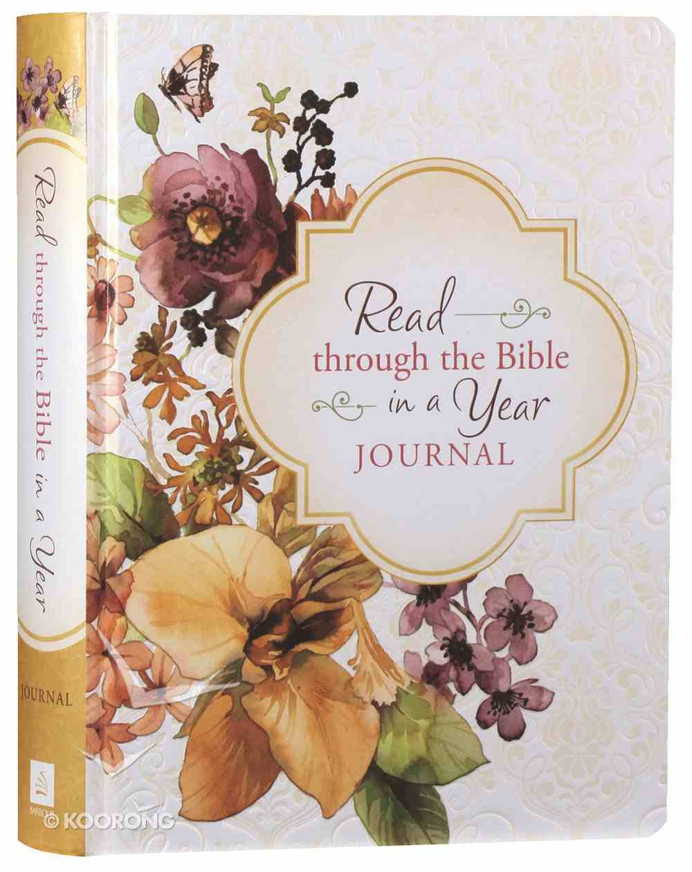 Read Through the Bible in a Year Journal Hardback