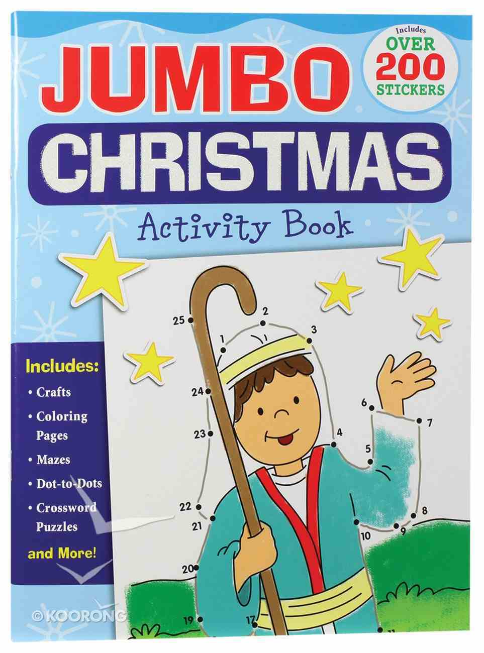 Jumbo Christmas Activity Book Paperback