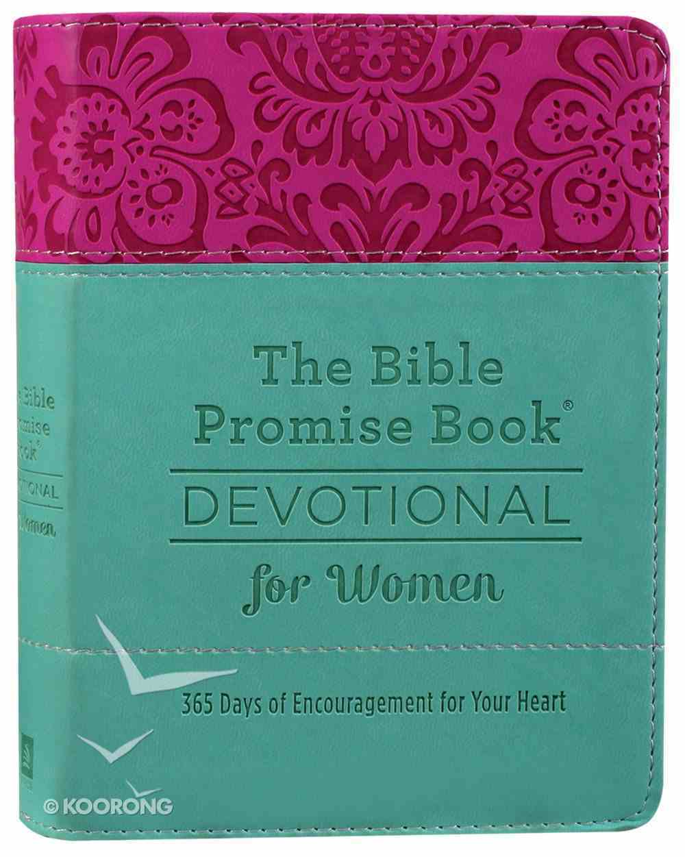 The Bible Promise Book Devotional For Women: 365 Days of Encouragement For Your Heart Imitation Leather