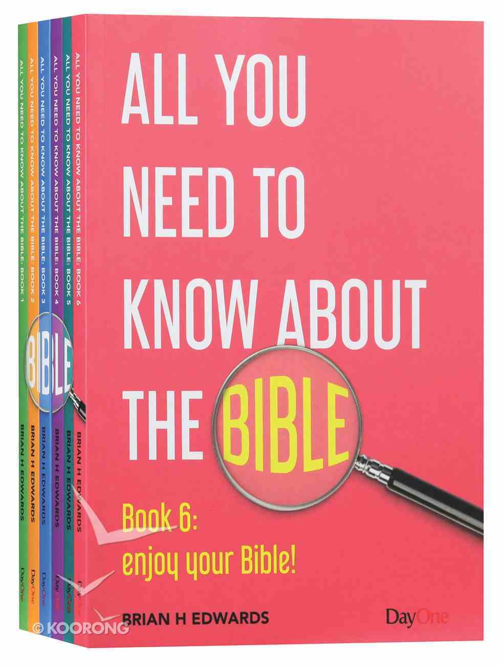 All You Need to Know About the Bible 6-Pack (6 Volume Set) (All You Need To Know About The Bible Series) Paperback