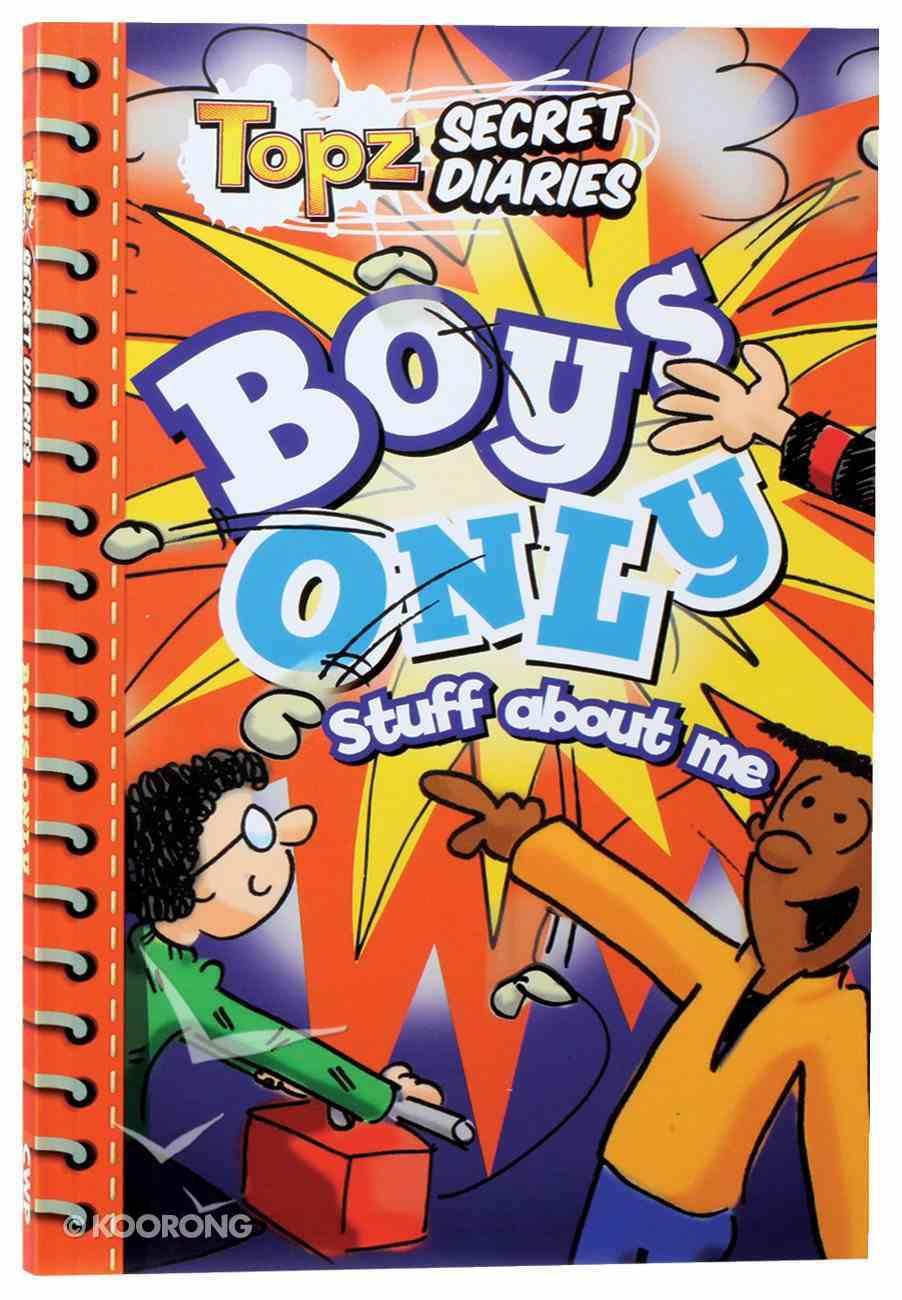 Boys Only (Topz Secret Diaries Series) Paperback