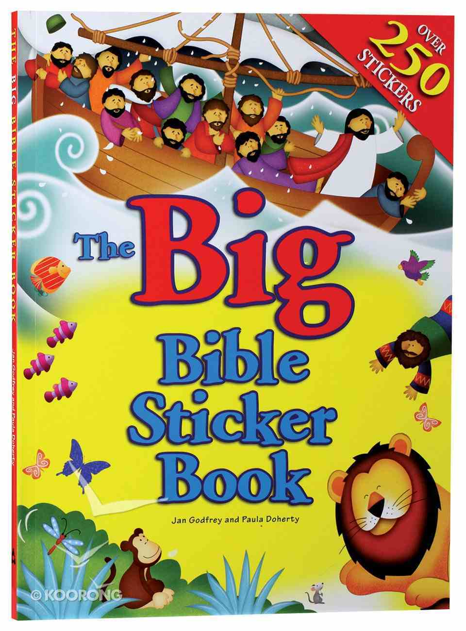 The Big Bible Sticker Book Paperback
