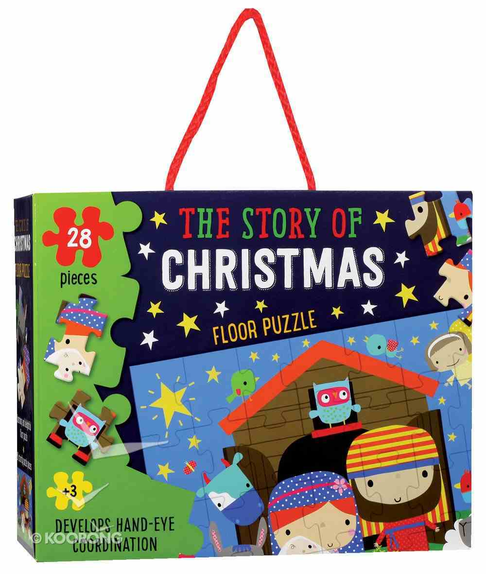 Christmas Floor Puzzle: The Story of Christmas (28 Pieces) Box