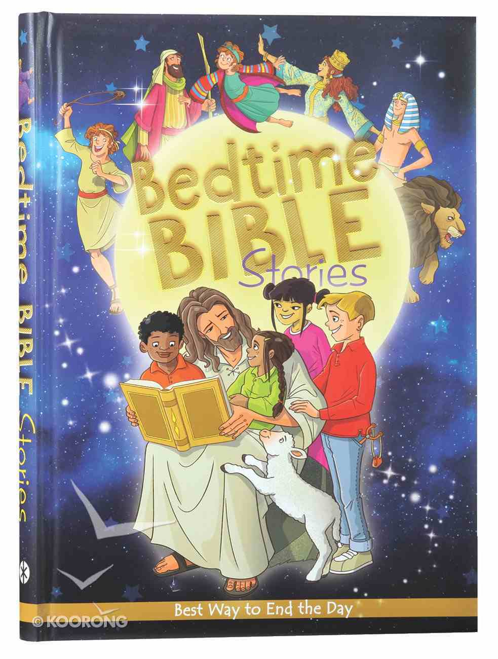 Bedtime Bible Stories Hardback