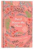 2019 12-month Devotional Planner: For I Know The Plans Orange/floral image