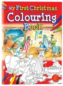 Product: My First Christmas Colouring Book Image