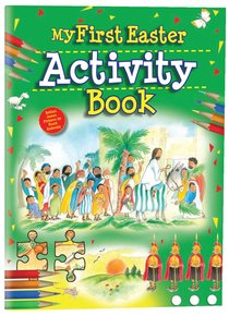 Product: My First Easter Activity Book Image