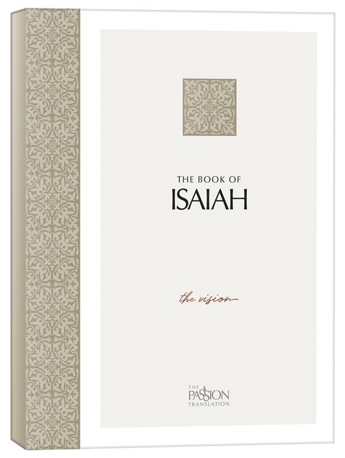 Product: Tpt Book Of Isaiah, The: The Vision (Black Letter) Image