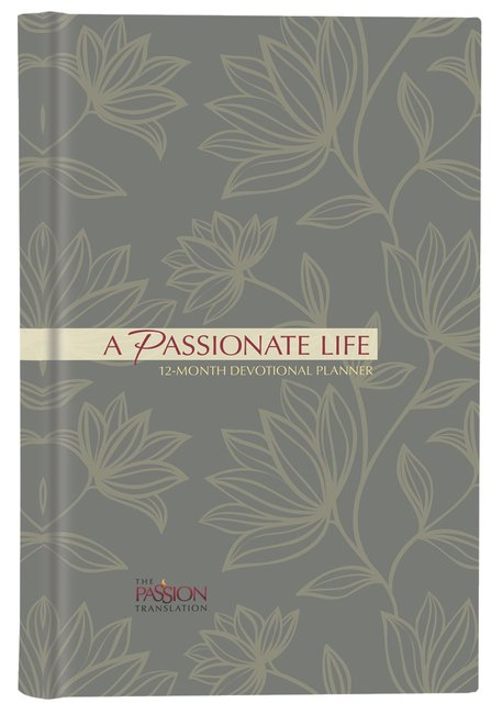 Product: 2019 12-month Devotional Planner: A Passionate Life Image