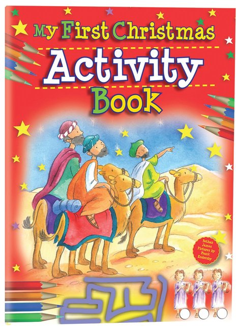Product: My First Christmas Activity Book Image