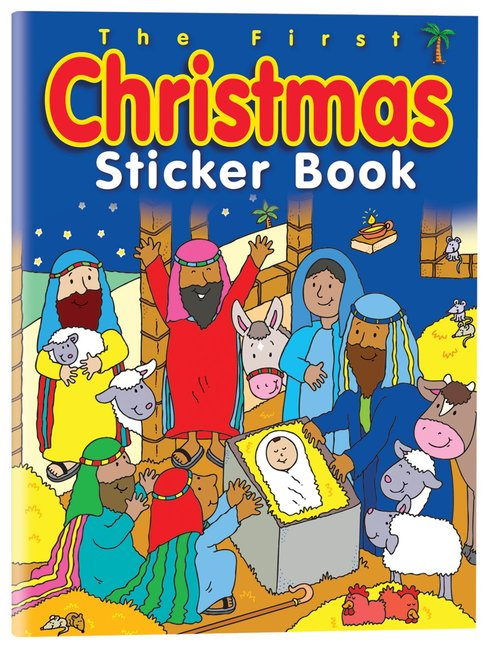 Product: First Christmas Sticker Book, The Image