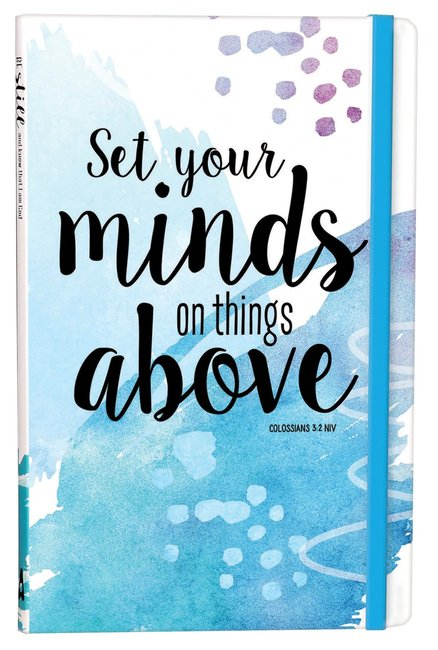 Product: Set Your Minds On Things Above Journal Image