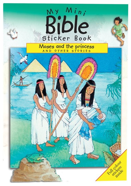 Product: My Mini Bible Sticker Book: Moses And The Princess And Other Stories Image