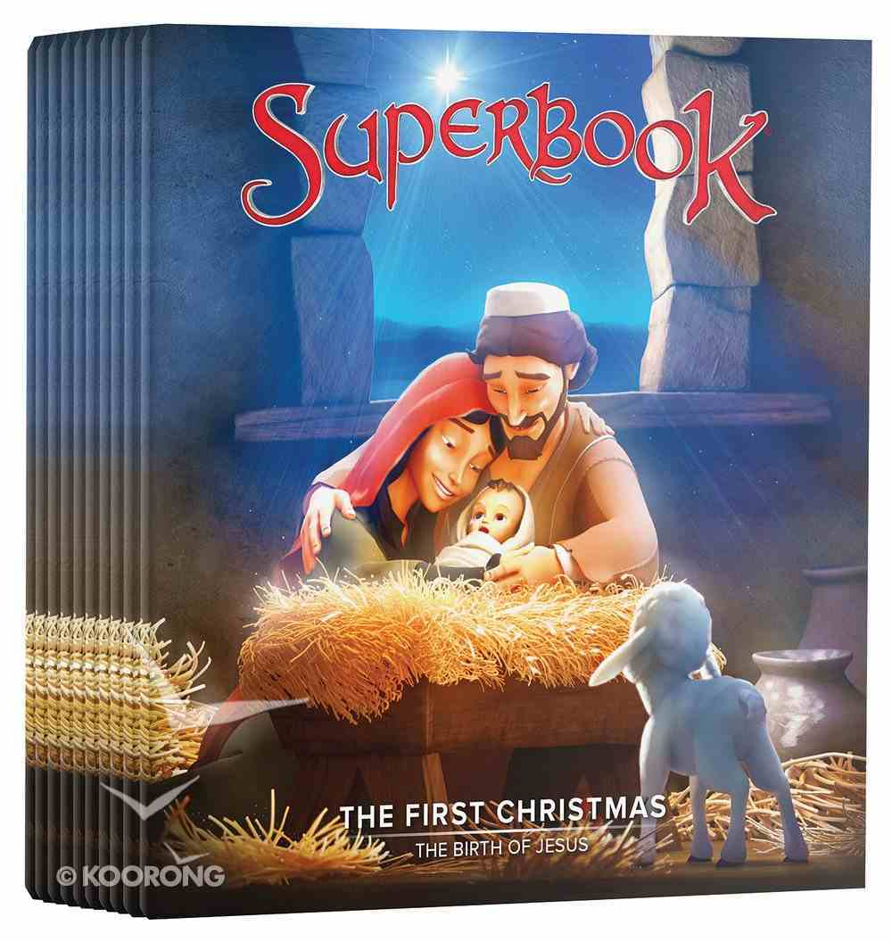 Superbook - the First Christmas Ministry Pack (10 Dvds) DVD