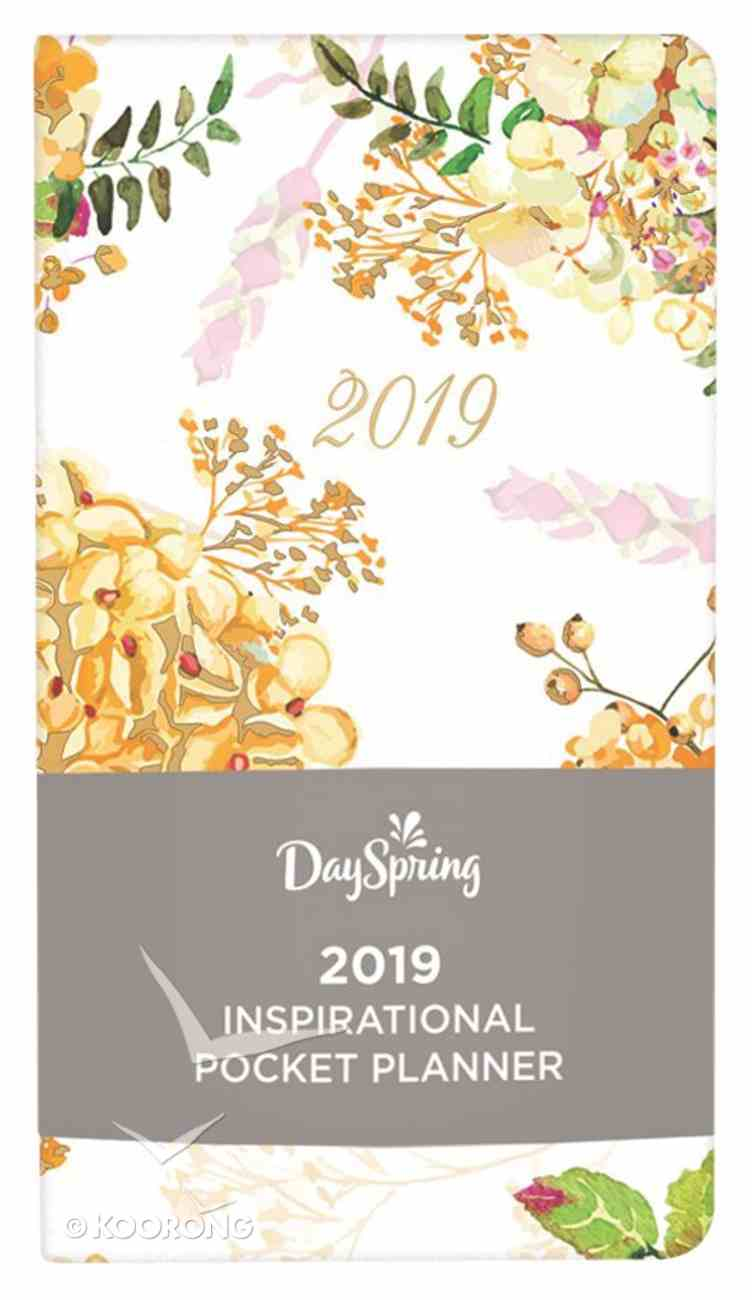 2019 Premium Pocket Weekly Diary/Planner: Floral, the Beauty of His Word Collection Paperback