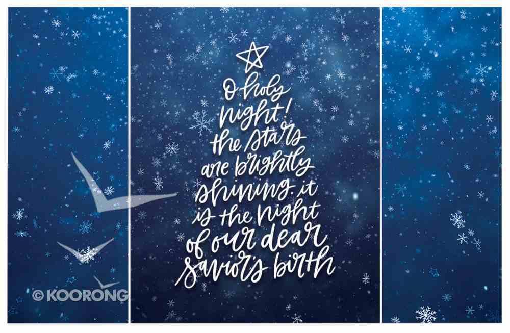 Christmas Pass-Around Cards: O Holy Night Star (25 Pack) Cards