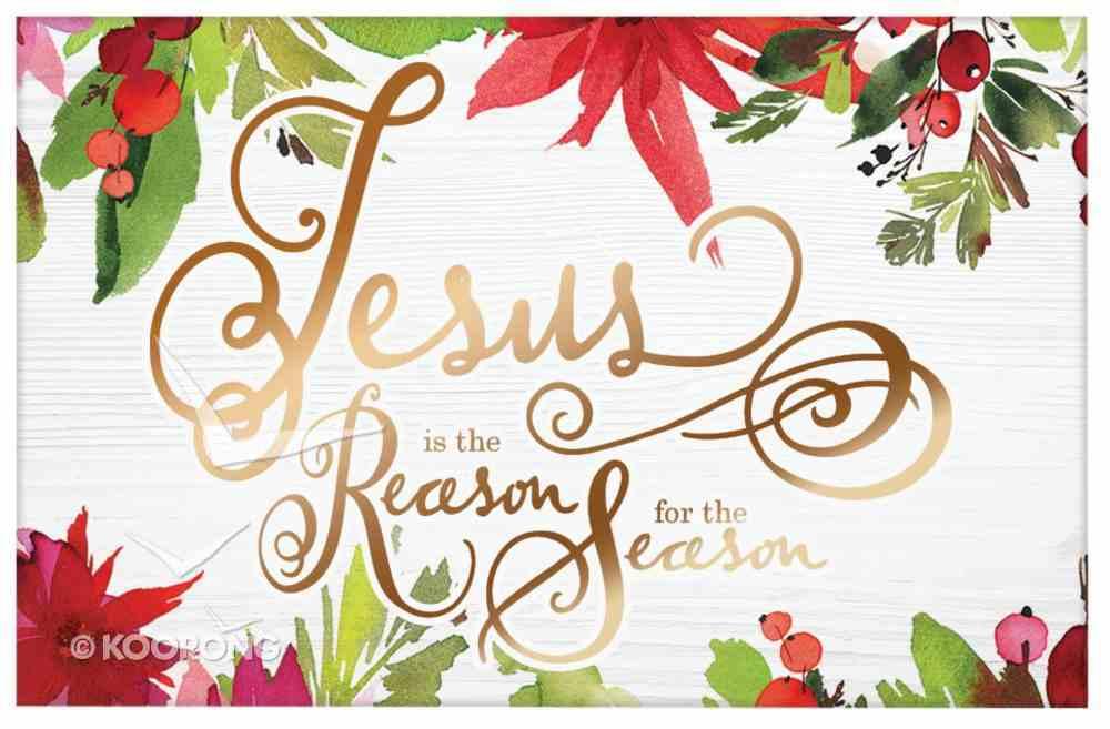 Christmas Pass-Around Cards: Jesus is the Reason (25 Pack) Cards