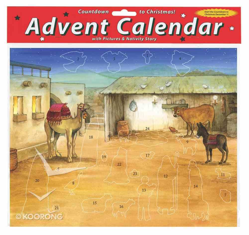 Advent Calendar With Stickers: Bethlehem's Child Calendar