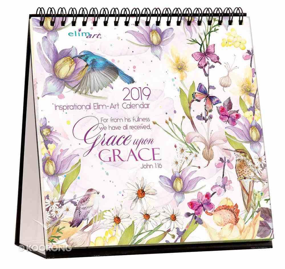 2019 Table Calendar: Grace Upon Grace Calendar