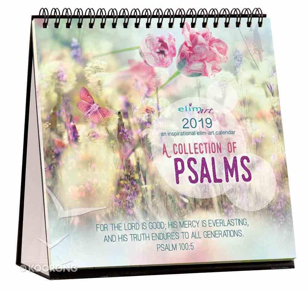 2019 Table Calendar: Psalms Calendar