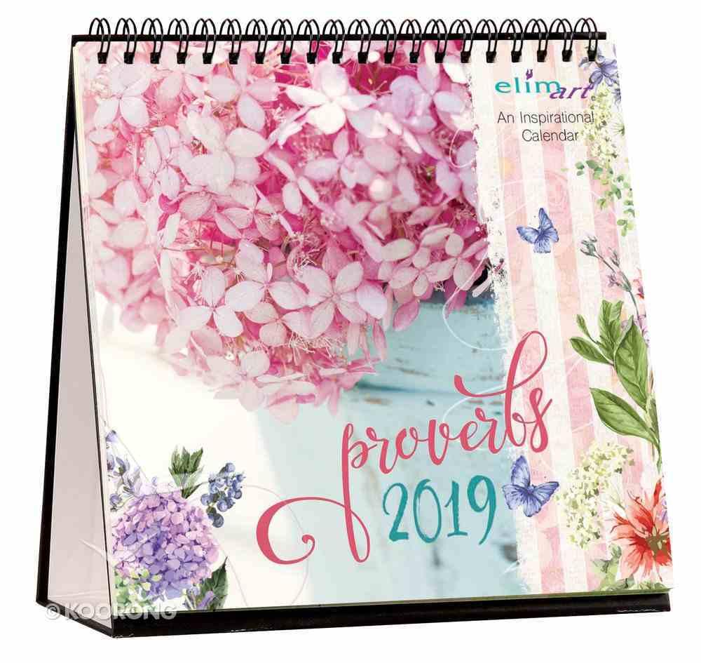 2019 Table Calendar: Proverbs Calendar