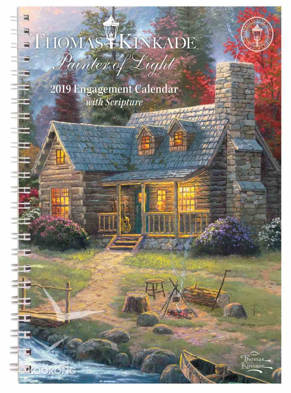2019 Painter of Light Planner/Diary With Scripture Spiral