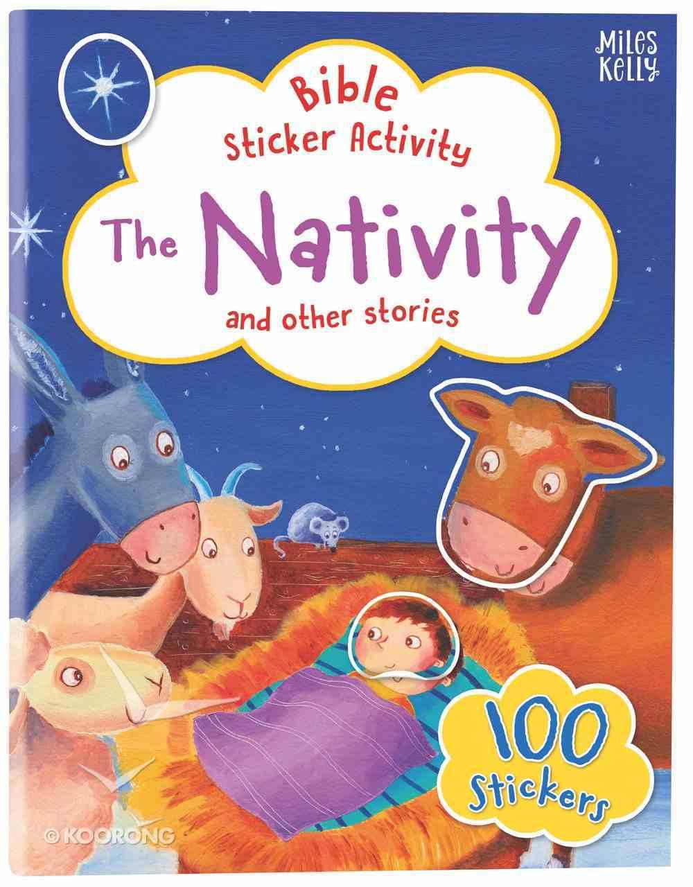 Bible Sticker Activity: The Nativity Paperback