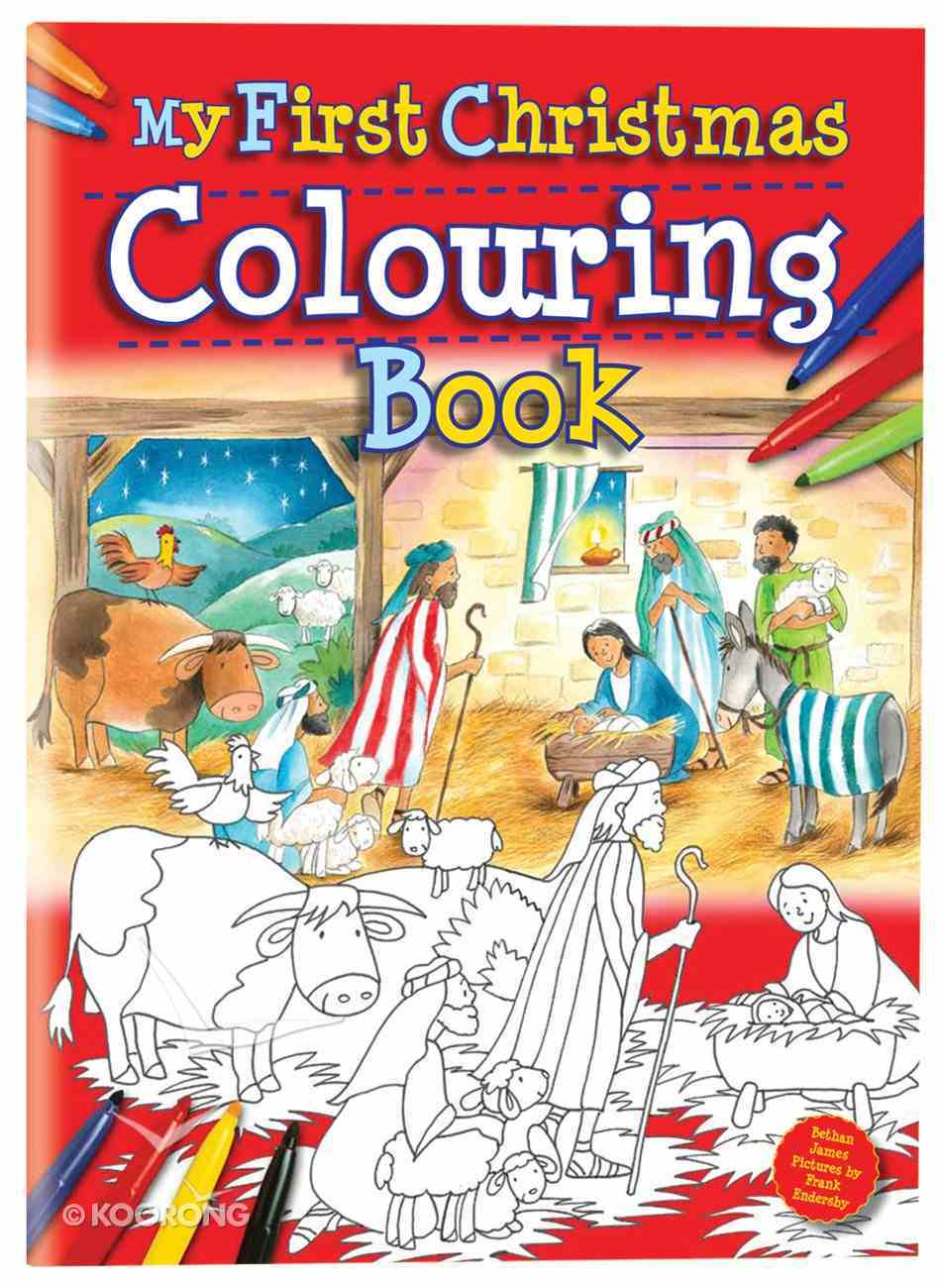 My First Christmas Colouring Book Paperback