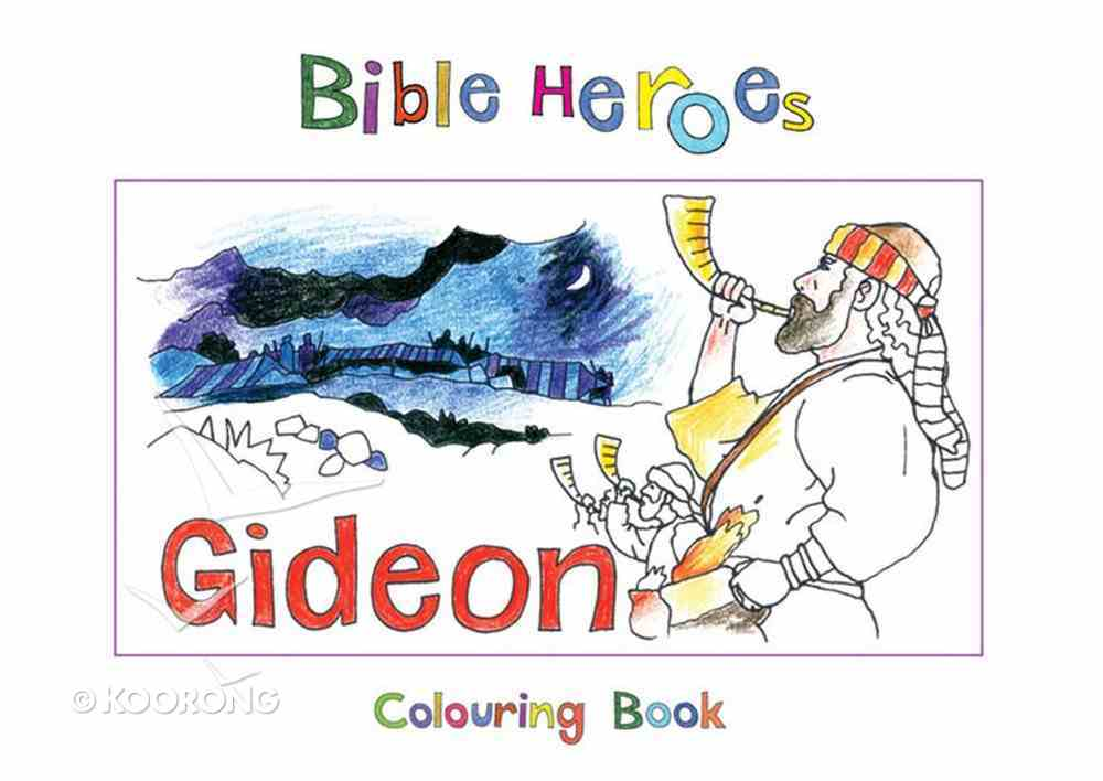 Gideon (Bible Heroes Coloring Book Series) Paperback